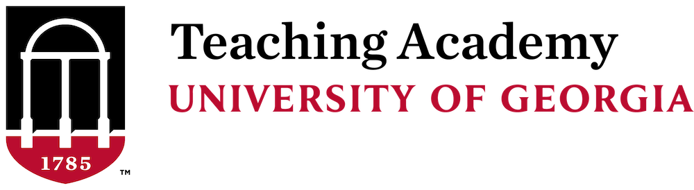Teaching Academy at the University of Georgia Logo